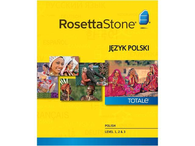 Rosetta Stone Polish Level 1-3 Set for Mac [Download]