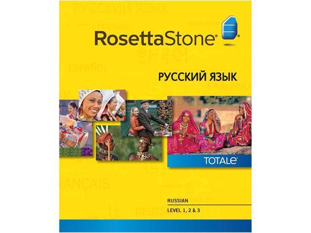 Rosetta Stone Russian Level 1-3 Set for Mac [Download]