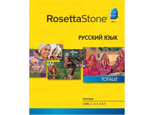 Rosetta Stone Russian Level 1-5 Set for Mac [Download]