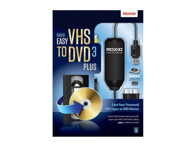 Roxio Easy VHS to DVD 3.0 Plus