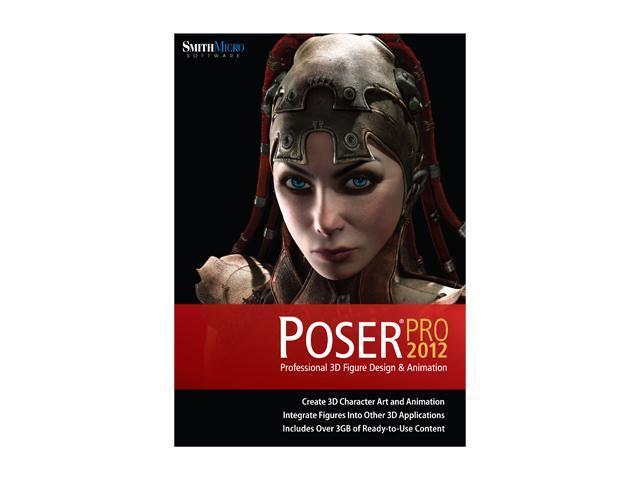 SmithMicro Poser Pro 2012