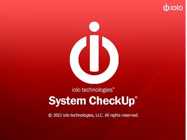 iolo FREE System CheckUp