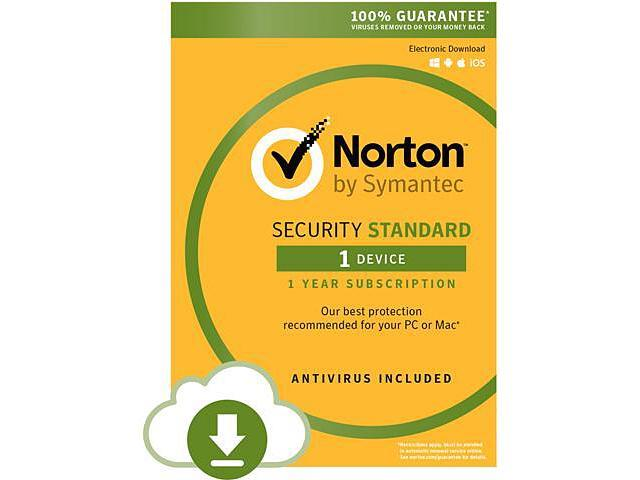 Symantec Norton Security Standard - 1 Device - Download (Hardware Attach Only)