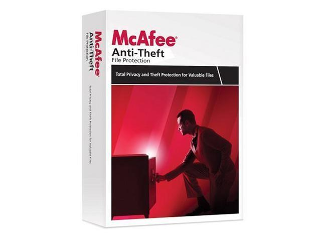 McAfee Mcafee Anti-Theft 2009 1 User