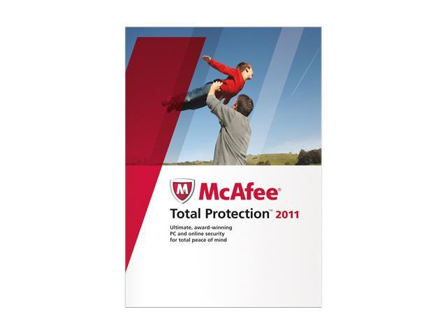 McAfee Total Protection 2011 - 1 User
