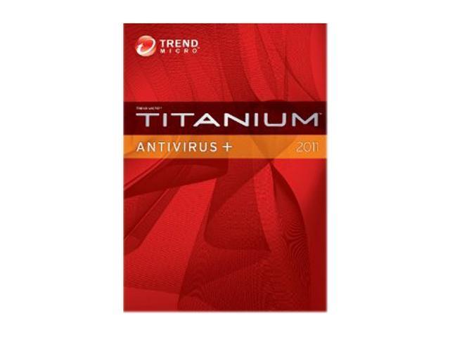 TREND MICRO Titanium AntiVirus + 3 User