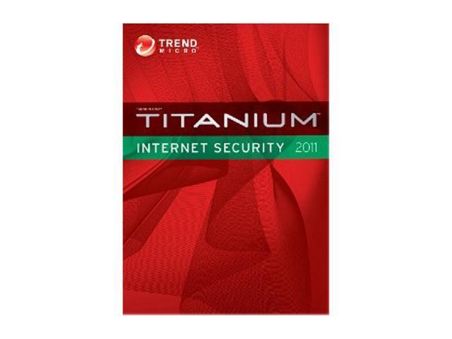 TREND MICRO Titanium Internet Security 1 User