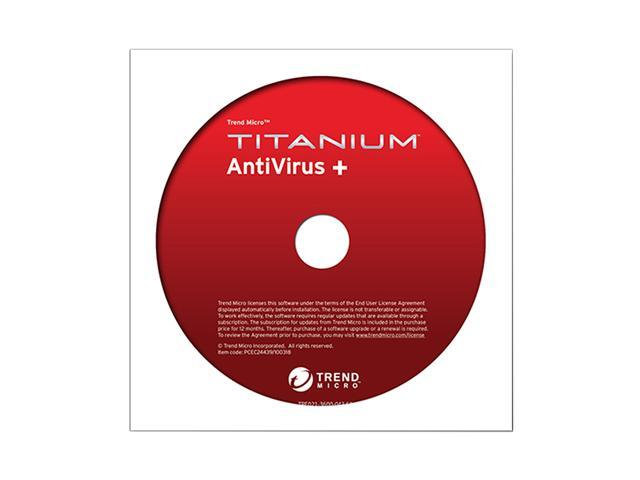 TREND MICRO Titanium Antivirus+ - 1 User for System Builders