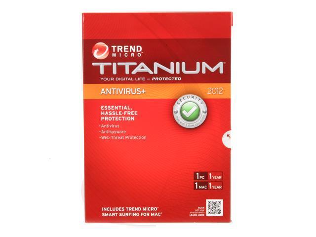 TREND MICRO Titanium Antivirus - 1 User