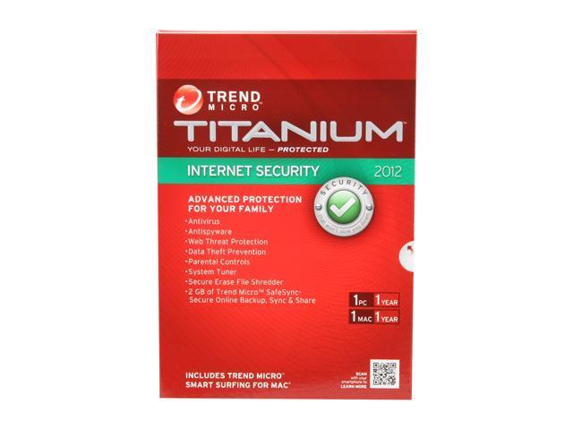 TREND MICRO Titanium Internet Security - 1 User