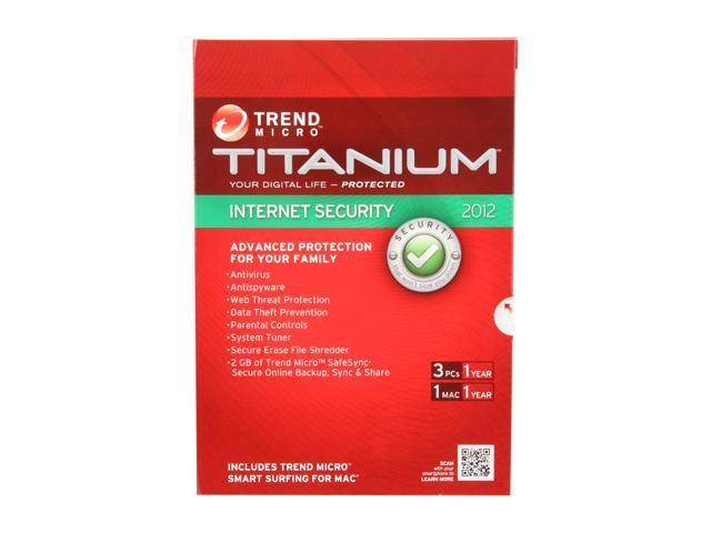 TREND MICRO Titanium Internet Security - 3 PCs