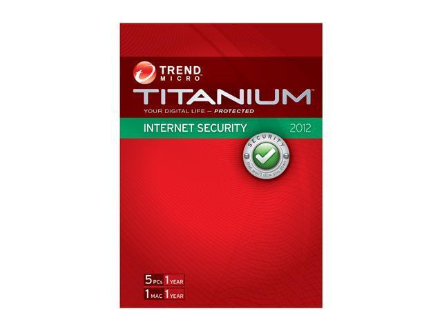 TREND MICRO Titanium Internet Security - 5 User