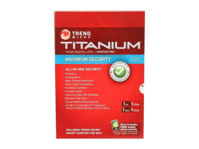 TREND MICRO Titanium Maximum Security - 1 User