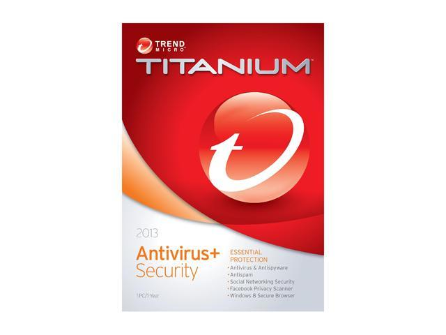 TREND MICRO Titanium AntiVirus 2013 - 1 User
