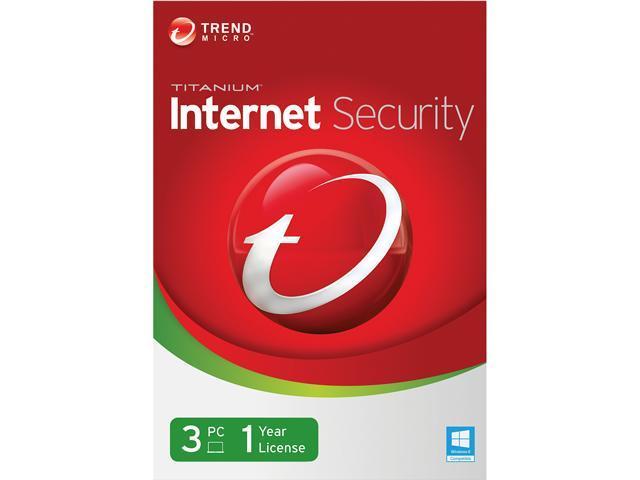 TREND MICRO Titanium Internet Security 2014 - 3 PCs