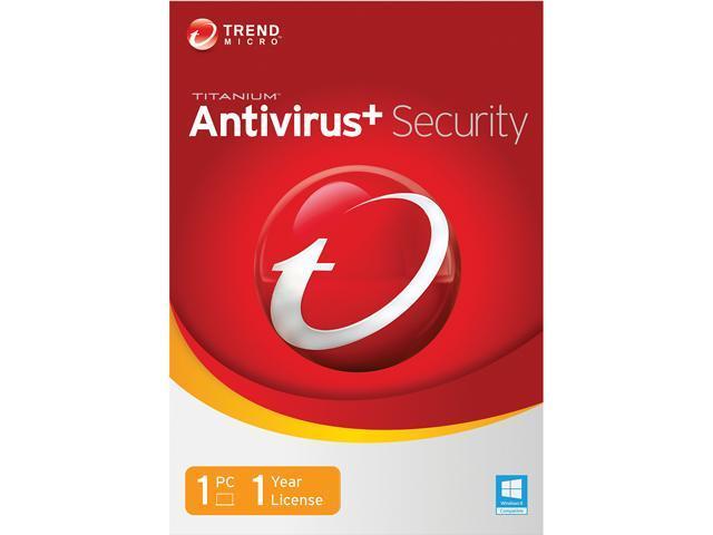 TREND MICRO Titanium AntiVirus+ 2014 1 PC - Download