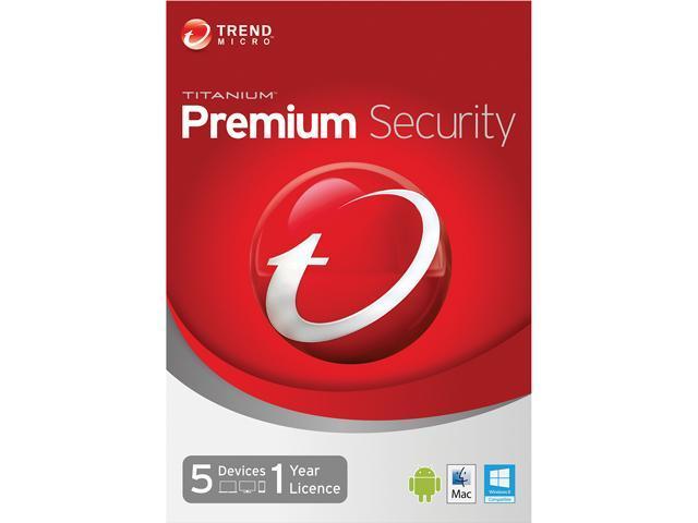TREND MICRO Titanium Maximum Premium 2014 5 PCs - Download