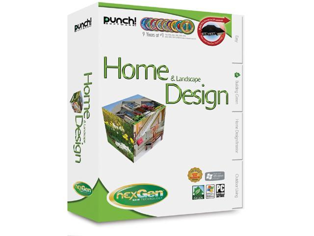 Punch software home landscape design with nexgen for Nexgen home and landscape design