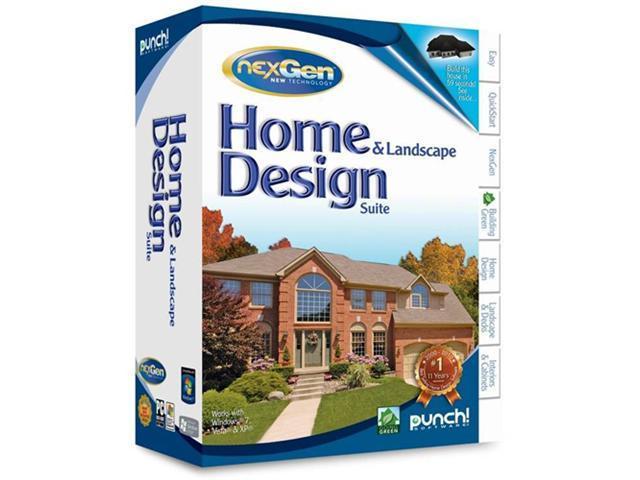 punch software home amp landscape design suite software