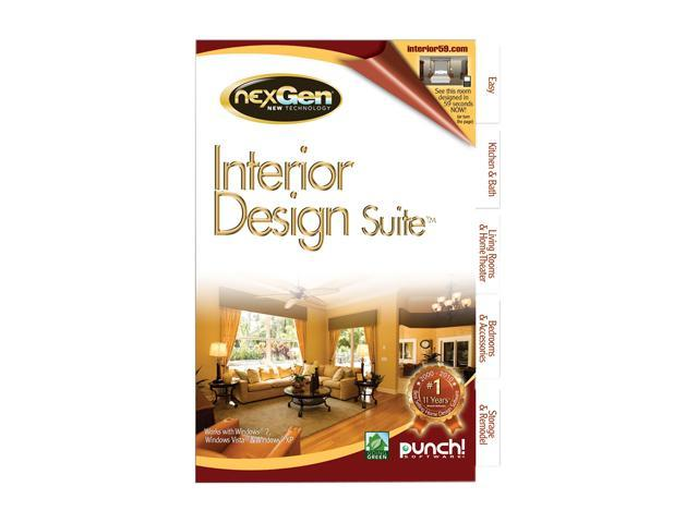 Punch! Software Interior Design Suite With Nexgen Technology