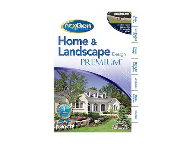Punch! Software Home & Landscape Design Premium Nexgen3