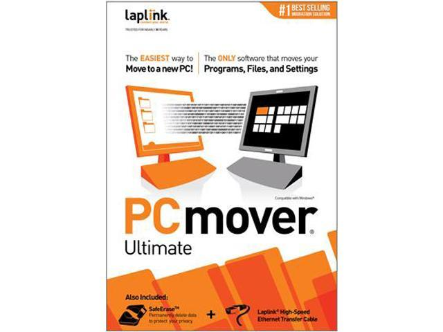 Laplink PCmover Ultimate - Includes High-Speed Transfer Cable
