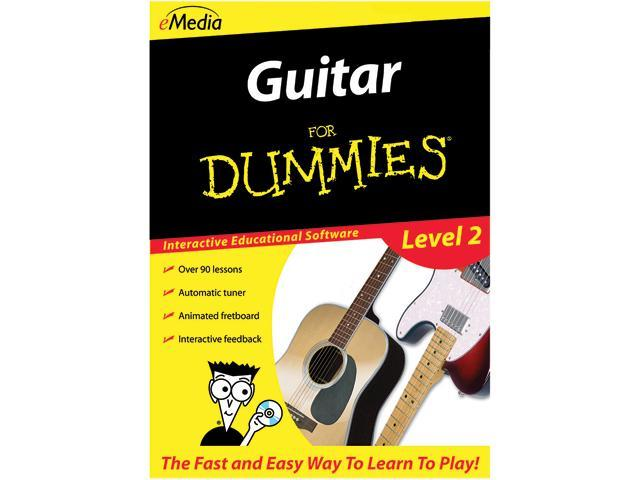 eMedia Guitar For Dummies Level 2 (Windows) - Download