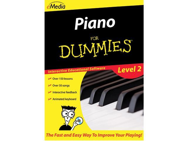 eMedia Piano For Dummies Level 2 (Windows) - Download