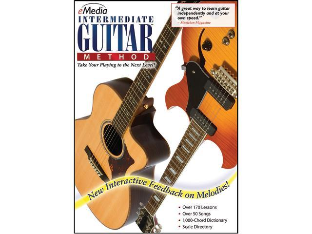 eMedia Intermediate Guitar Method (Mac) - Download