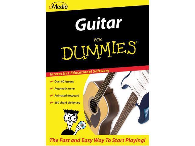 eMedia Guitar For Dummies (Mac) - Download