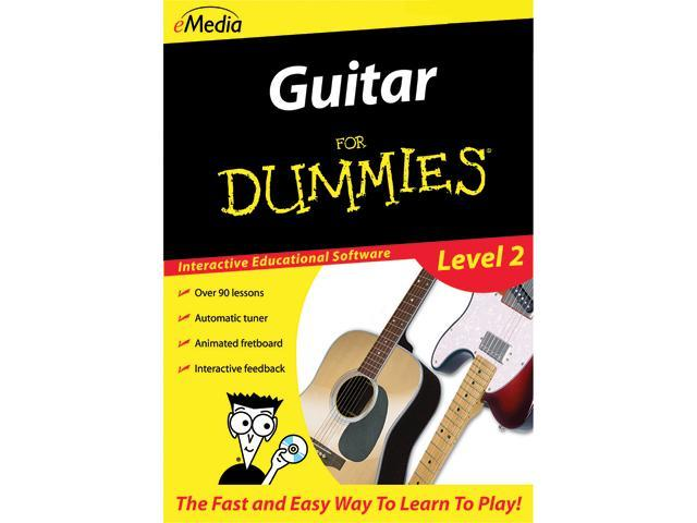 eMedia Guitar For Dummies Level 2 (Mac) - Download