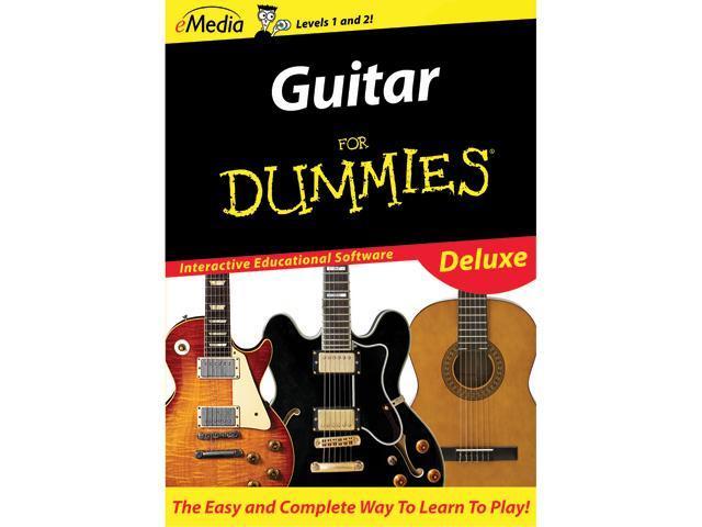 eMedia Guitar For Dummies Deluxe (Mac) - Download