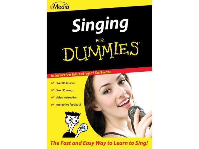 eMedia Singing For Dummies (Mac) - Download