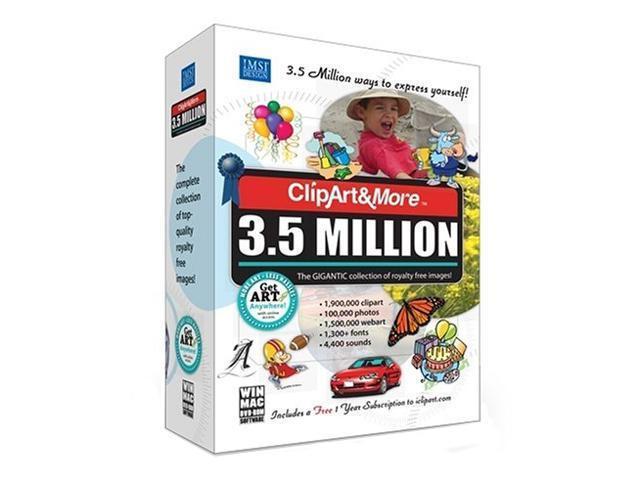 IMSI ClipArt&More 3.5 Million