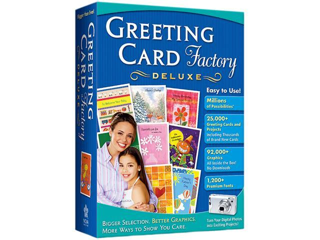 Nova Development Greeting Card Factory Deluxe 8