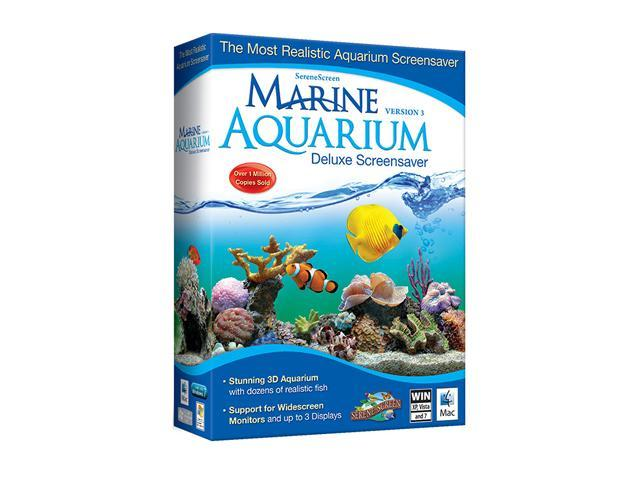 Nova Development Marine Aquarium Screen Saver   CROM
