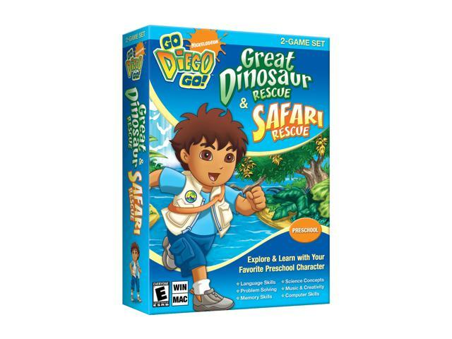 Go Diego Go! 2-Game Set PC Game