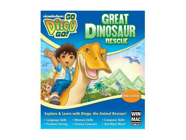 Go Diego Go: Diego Dinosaur Rescue (Jewel Case) PC Game