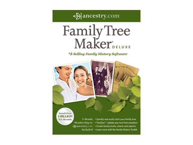 Nova Development Family Tree Maker 2012 Deluxe