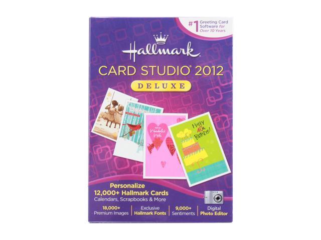 Nova Development Hallmark Card Studio Deluxe 2012