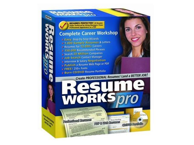 Individual Software Resume Works Pro