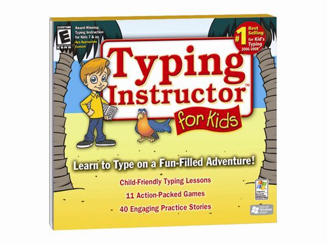 Individual Software Typing Instructor For Kids 3 Jewel Case