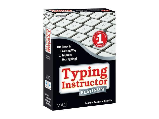 Individual Software Typing Instructor Platinum Mac