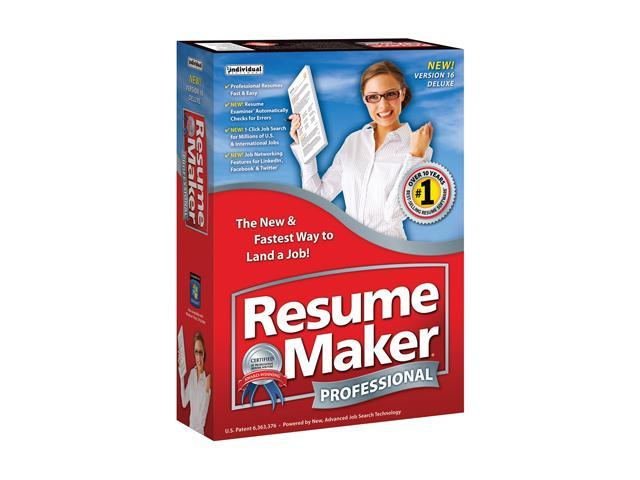Individual Software Resumemaker Professional Deluxe 16