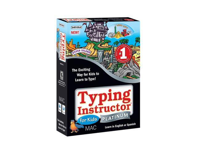 Individual Software Typing Instructor For Kids Platinum Mac
