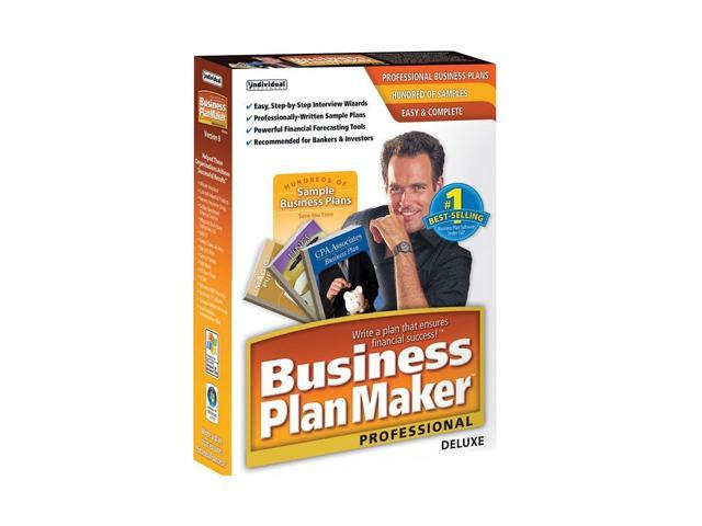 Individual Software Business PlanMaker Professional Deluxe 9