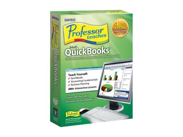 Individual Software Professor Teaches Quickbooks
