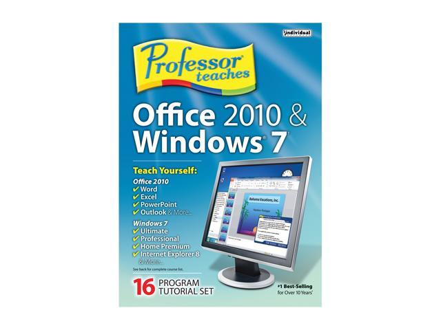 Individual Software Professor Teaches Office 2010 & Windows 7 - System Builder