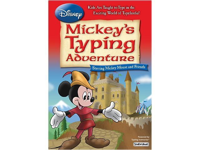 Individual Software Disney: Mickey's Typing Adventure