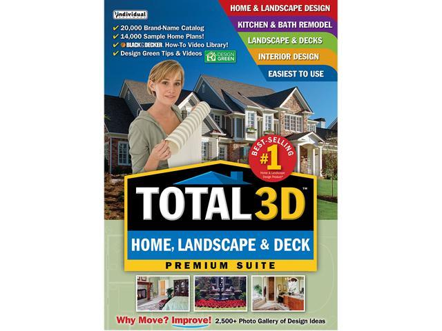 Individual Software Total 3D Home, Landscape & Deck Premium Suite - Download